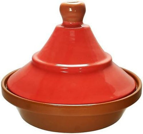 Cooking Tagine 2 Qt Terra Cotta Tajine Lead Free Cook Pot Clay Cookware Red
