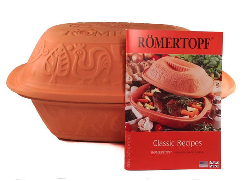 Romertopf Large w/ Free Cook Book