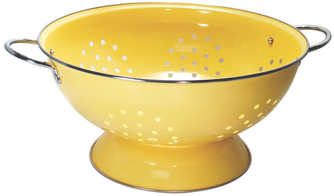 Lemon 7 Quart Strainer Colander Stainless Steel