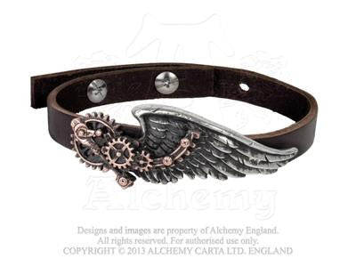 A100 - The Black Baron Technician's Steampunk Wingstrap by Alchemy of England
