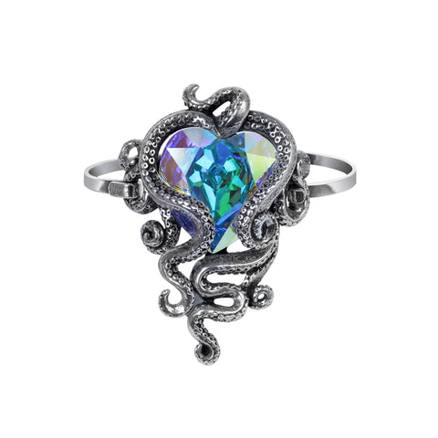 A133 - Heart Of Cthulhu Sprung Bracelet by Alchemy of England