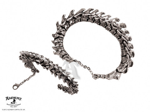 A29 - Vertebrae Dragon Spine Bracelet by Alchemy of England