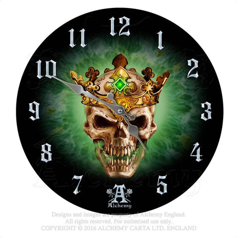 AAP12 - Prince of Oblivion Clock by Alchemy of England