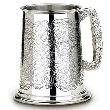AG56 - Icovellavna Veltic Tankard by Alchemy of England - Very Rare Shefield Piece