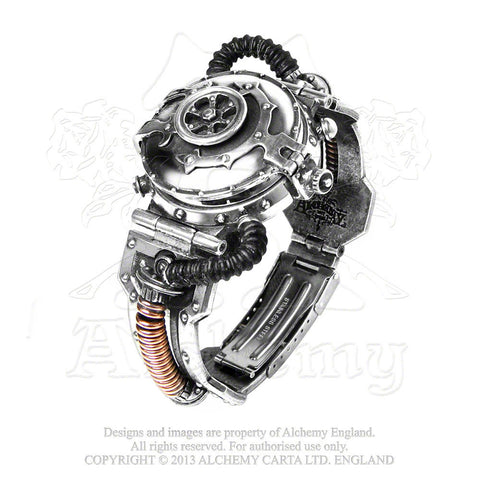 AW15 - EER Steam-Powered Entropy Calibrator Watch by Alchemy Steampunk