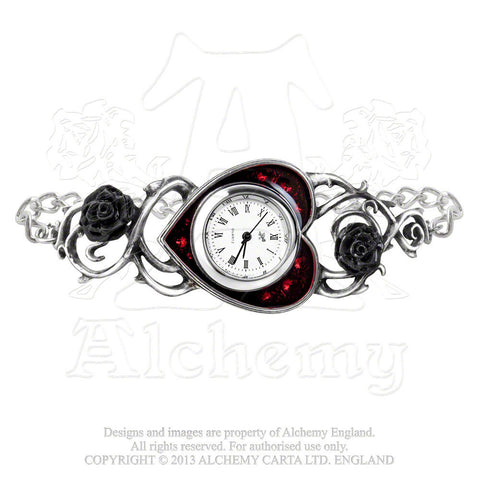 AW22 - Bed Of Blood Roses Ladies Watch by Alchemy Gothic