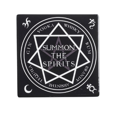 CC2 - Summon The Spirits Ceramic Coaster Set by Alchemy of England