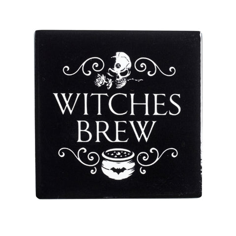 CC6 - Witch's Brew Ceramic Coaster Set by Alchemy of England