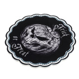 CT6 - Trick or Treat Ceramic Cupcake Trivet by Alchemy of England