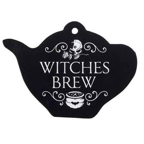 CT8 - Witch's Brew Tea Pot Trivet by Alchemy of England