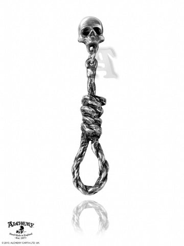 E256 - Hang Man's Noose Earring by Alchemy of England