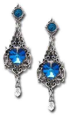 E264 - Empress Eugenie Earrings by Alchemy of England