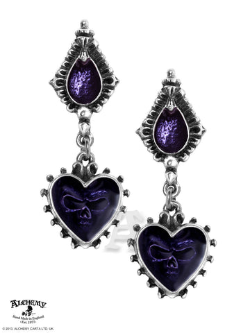 E271 - Mirror of the Soul Earrings by Alchemy of England