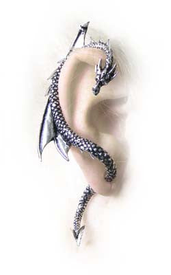 E274 - The Dragon's Lure Ear Wrap by Alchemy of England