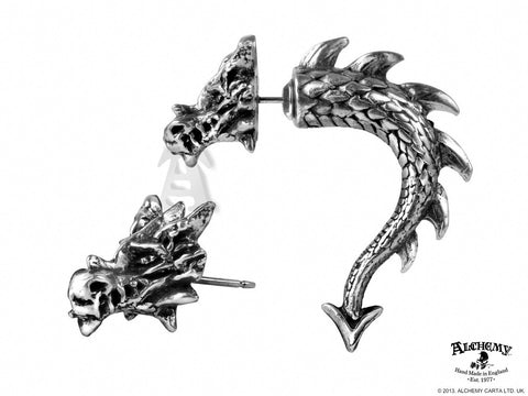 E324 - Tor Dragon Earring by Alchemy of England