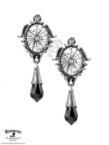 E334 - Catoptrauma Earrings by Alchemy of England