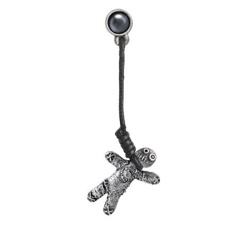 E408 - Voodoo Doll Earring by Alchemy of England
