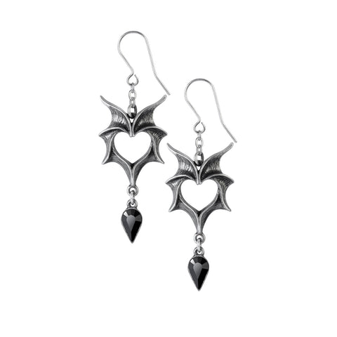E425 - Love Bats Earrings by Alchemy of England