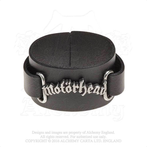 HRWL443 - Motorhead Leatrher Wrist Strap by Alchemy of England - New