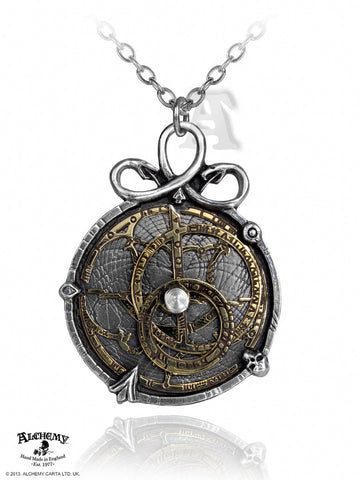 P188 - Anguistralobe Steampunk Pendant By Alchemy of England