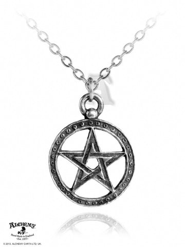 P235 - Dante's Hex Pendant by Alchemy of England