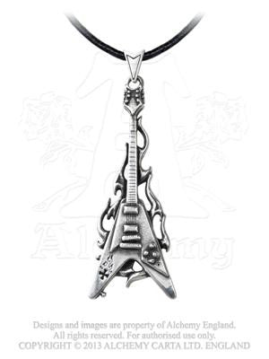 P685 - Flaming V Pendant by Alchemy of England
