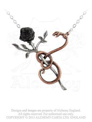 P689 - A Rose for Eve Necklace by Alchemy of England