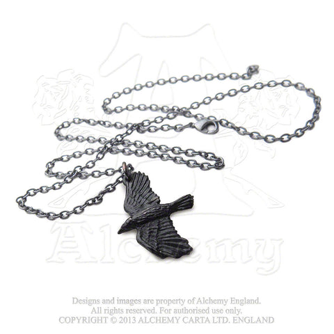 P697 - Ravenine Pendant by Alchemy of England