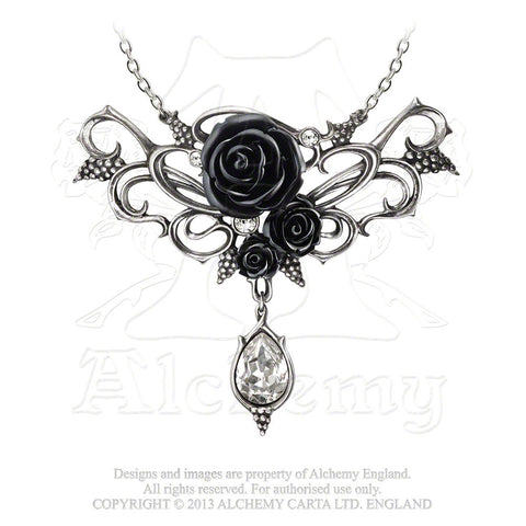 P700 - Bacchanal Rose Necklace by alchemy of England