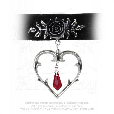 P740 - Wounded Love Choker by Alchemy of England