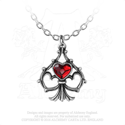P759 - Lucky In Love Pendant by Alchemy Gothic - New