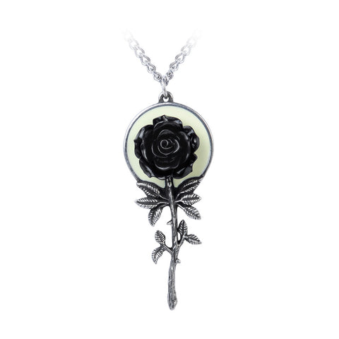 P849 - Luna Rose Pendant by Alchemy of England