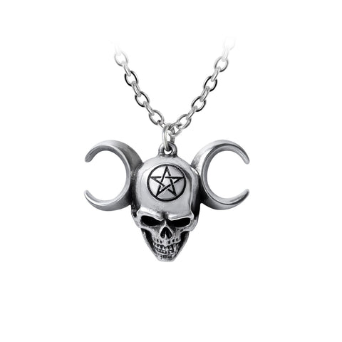 P903 - Truinity Skull Pendant by Alchemy of England
