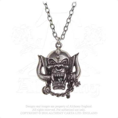 PP505 - Motorhead War Pig English Pewter Pendant by Alchemy of England