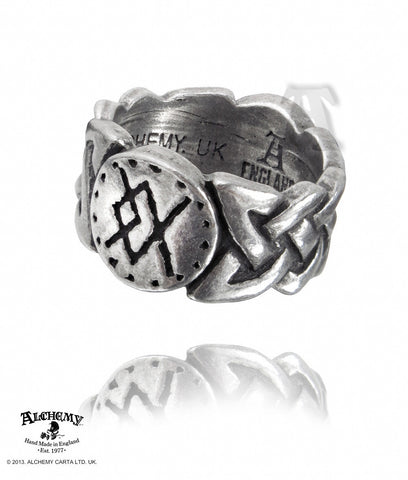 R195 - Viking Virility Runering Ring by Alchemy of England