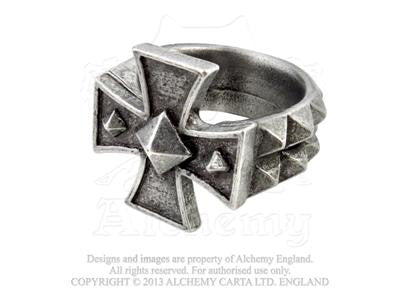 R196 - Cross of Iron Ring by Alchemy of England