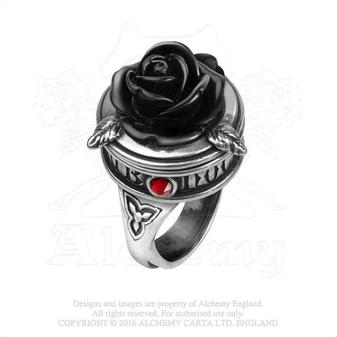 R209 - Sub Rosa Poison Ring by Alchemy of England - New