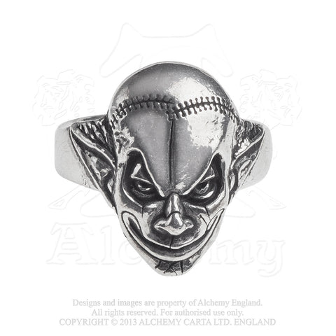 R213 - M'era Luna Evil Clown Ring by Alchemy of England - New