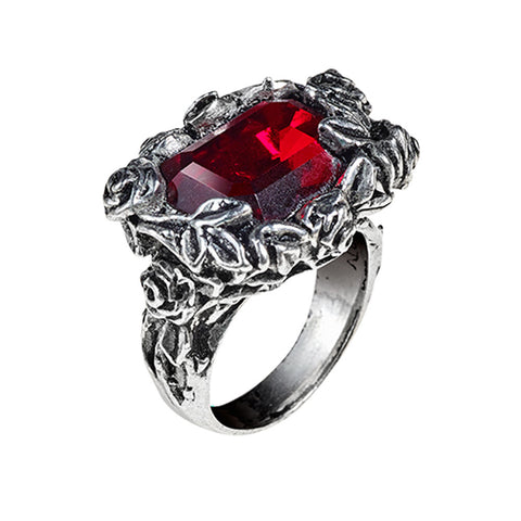 R227 - Blood Rose Ring by Alchemy of England