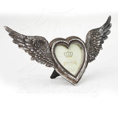 SA1 - Winged Heart Photo Frame by Alchemy of England