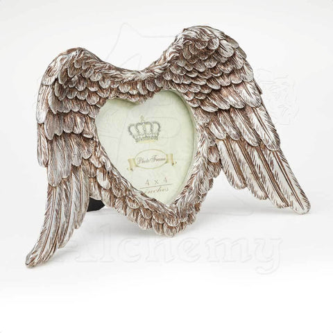 SA4 - Winged Heart Photo Frame vy Alchemy of England