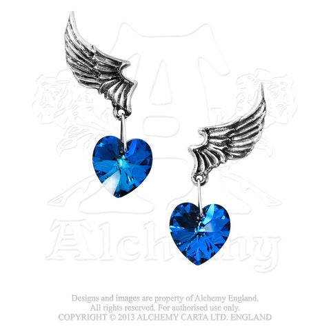 ULFE15 - El Corazon Earrings by Alchemy of England