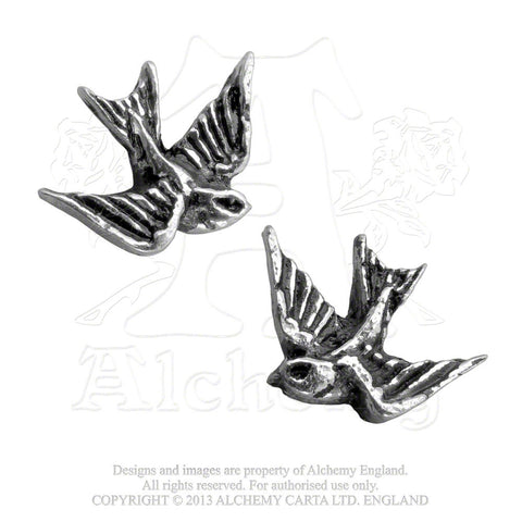 ULFE4 - Swallow Earrings by Alchemy of England