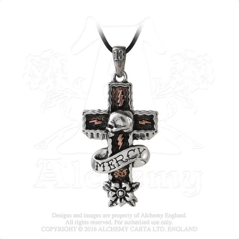 ULP45 - Mercy Cross Pendant by Alchemy of England UL13 - New