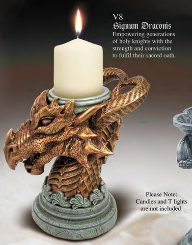V8 - Signum Draconis Candle Holder by Alchemy of England