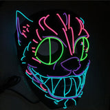 Cheshire Cat Glow Mask
