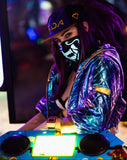 KDA Sound Reactive LED Mask