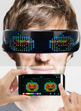 Cyberspace Full Color Customizable LED Glasses