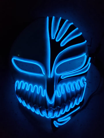 Bleach Anime Cosplay Glow Mask