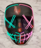 The Purge Deluxe Double Color Glow Mask 2020